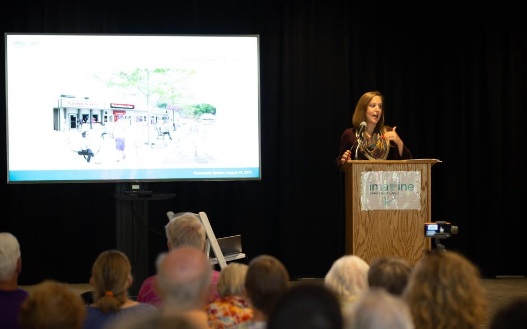 Large Crowd Hears Update From Imagine Iowa Great Lakes